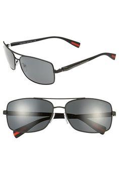 b7ee7986107 Prada 62mm Sunglasses available at  Nordstrom Italian Sunglasses
