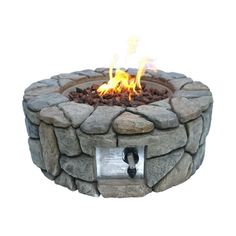 Buy Peaktop HF09501AA UK Gas Fire Pit With Cover | Fire pits | Argos Square Fire Pit, Round Fire Pit, Outdoor Stone, Outdoor Fire, Outdoor Propane Fire Pit, Fire Pit Spark Screen, Fire And Stone, Gas Fires, Outdoor Settings