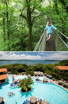 Great Deal Alert! Costa Rica for 799/pp (if you're flying outta NY, add 99 bucks) but listen to what it includes: R/T airfare to San Jose, Hotel, Rainforest Tour and access to hot springs and butterfly gardens, Daily b'fest and a car rental for 8 days. Visit Travelzoo.com!!