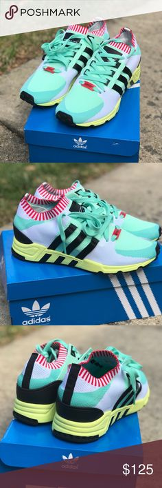 Adidas Originals EQT Support Original price $160. Never worn, brand new with box!! Men size 9 1/2 Shoes