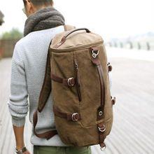 большая емкость человек мешок открытый альпинизма рюкзак мужчин мешки походы кемпинг мешок холст ведро ys-314(China (Mainland))