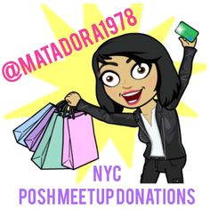 NYC POSH MEETUP DONATIONS Swag bag donations.  For @matadora1978 only! Other