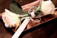 Ring bearer alternatives   #rose #weddingbands