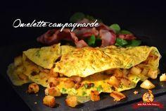 Cette recette d'omelette campagnarde est une recette que je fais depuis des années et qui est particulièrement gourmande. Toutes les cuisinières vous diront «moi, l'omelette je la fais…