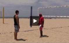 Volleyball Videos, Beach Volleyball, Mindset, Basketball Court, Sports, Hs Sports, Attitude, Sport
