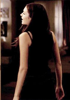 Nina Dobrev as Elena Gilbert. I have always been fascinated by how Nina Dobrev so easily can Switch between The Sweet and Cute Elena and the Sexy and witty Katherine, Even Being able to Change her body Language Perfectly.