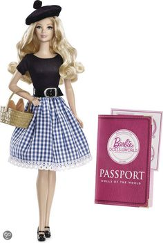 Barbie Dolls of the World Frankrijk, Mattel | Speelgoed