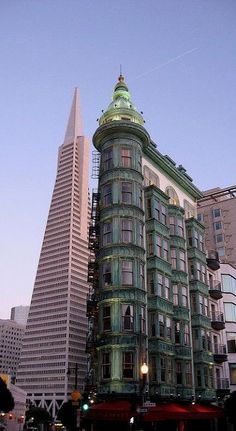 San Francisco, California This corner is home to House of Nanking - awesome Chinese food