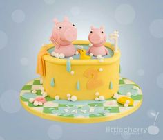 Peppa Pig Cake by Little Cherry cupcake company