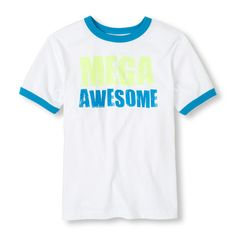 Is he awesome or what? His tee thinks so!