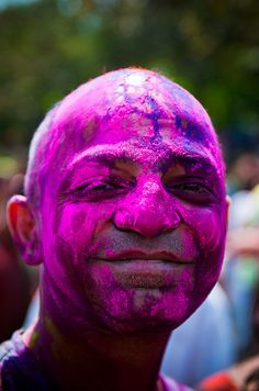 Holi festival, India, photo by Kushal Dash