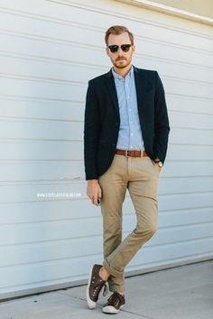 January 20, 2014. Blazer:Topman- $110 (London sale) (similar)Shirt:Rhodes Collar Oxford-BonobosPants: 484 Chino - J. Crew - $75Shoes:...