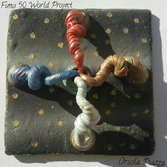 FIMO 50 World project tile from Orsola Piazza, Italy