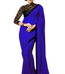 Shop indian sarees online from our wide collection of Sarees. Indian Designer Sarees, Indian Sarees Online, Designer Sarees Online, Party Wear Sarees Online, Party Sarees, Sari Design, Ethnic Sarees, Saree Collection, Chiffon Fabric