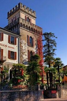 Castello Seeschloss Ascona, Ticino, Switzerland, from the 13th Century, now a romantic hotel