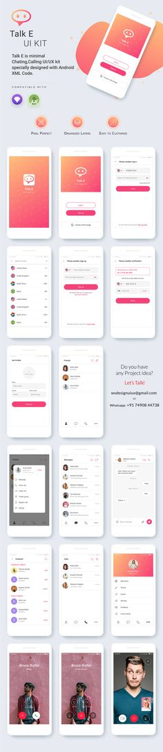 221 Best Android App Template UIKIT images in 2019 | Ui kit
