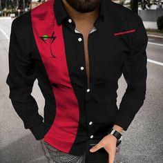 New Arrivals Shirt Sleeves, Long Sleeve Shirts, Fashion Shirts, Vintage Colors, Vintage Men, Blazer, Jackets, Down Jackets, Classy Men