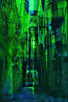 'Altstadt Impression' von Marie Luise Strohmenger bei artflakes.com als Poster oder Kunstdruck $19.41