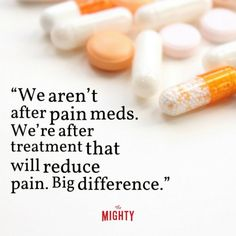 It is not about the meds, it is about obtaining some relief in order to be able…#chronic pain