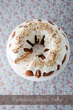 Hummingbird Bundt Cake | 27 Big And Beautiful Bundt Cakes