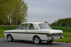 '66 Ford Lotus Cortina Mk 2 | designed by Roy Haynes Old Fashioned Cars, Ford Vehicles, Ford Sierra, British Car, Lotus Car, Old Fords, Ford Escort, Commercial Vehicle, Car Ford