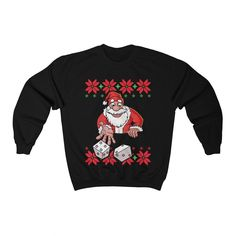 Xmas Dalmatians Pullover Sweater Ugly Christmas Sweater Company Womens Ugly Christmas Sweater