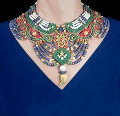 Barbara Natoli Witt  ~ macrame necklace