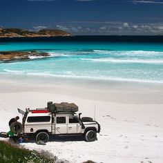 """theoverlandblog: """"The perfect 4wd in the perfect setting. Photo by @benmaverick #overland #4wdtouring """""""