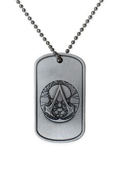 Especially developed for the Modern Assassins, the Assassin's Creed - The Recon Military necklace is directly inspired by the dog tags worn by the military and Special Forces units. This is my necklace! All Assassin's Creed, Assassins Creed Ii, Assasins Cred, Modern Assassin, Geeks, Geek Mode, Military Jewelry, Military Fashion, Men Accessories