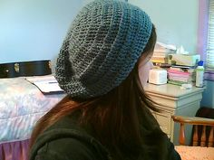 crochet slouch hat...I'm going to try!