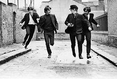 The Beatles - A Hard Days Night - 1964 - Movie Still Poster