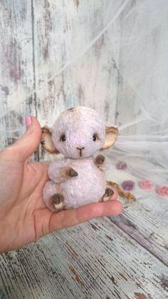 teddy Mouse miniature art toy artist pelusce by villaParadisoC