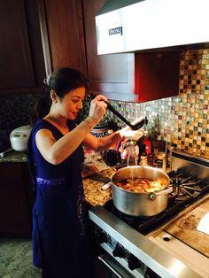 武田久美子お正月キッチン