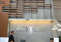 Офис Microsoft HQ, Шанхай PANDOMO Wall Microsoft, Cinema, Wall, Movies, Movie Theater