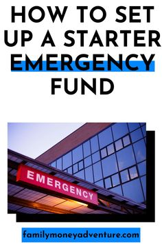 Having an emergency fund can be the difference between financial success and financial disaster. Learn how to set up a starter emergency fund today! Financial Success, Financial Planning, Ways To Save Money, Money Tips, Budget App, Household Expenses, Tax Refund, Budgeting Money, Money Management
