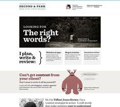 Web Design for copywriter