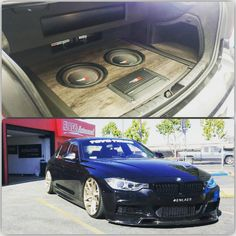 An awesome build inside the trunk of a BMW F30 335. Cool works by the guys at Al & Ed's Autosound.   Get Your Cerwin-Vega Mobile Upgrades At An Authorized Dealer & Visit Us Online: www.CerwinVegaMobile.com | The LOUD Speaker Company | est.1954  #Cerwinvegamobile #CVM #veganation #12vexperts #AlnEds #AEsouthbay #LTMW #ltmotorwerks #toyotires #teamtoyo #bmwlife #bmwnation