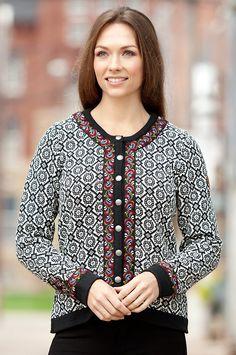 Women's Stina European Wool Jacket by Overland Sheepskin Co. (style 30142)