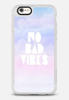 Casetify iPhone 7 Case and Other iPhone Covers - No Bad Vibes by Olga Komasinska | #Casetify