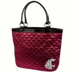 Washington State Cougars Quilted Tote