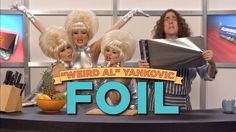 """Weird Al"" Yankovic has partnered with CollegeHumor to release a music video for his song ""Foil"", a parody of the song ""Royals"" by Lorde. The song specifically c…"