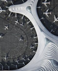 SID Harbin, Architecture Magazines, Amazing Architecture, Art And Architecture, Futuristic Architecture, Contemporary Architecture, Taiping, Airport Terminal 3, Mad Design