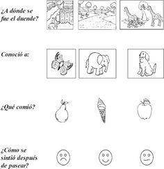 Cuentos de Don Coco: FICHA DE COMPRENSIÓN LECTORA PARA