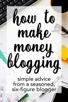 Want to learn how to make money blogging? This post is FULL of great info... and I'm totally trying her email strategy!