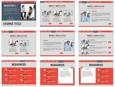 Articulate Rapid E-Learning Blog - layout options of free powerpoint templates