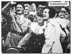With Leni Riefenstahl the famous film director
