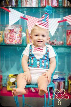 Newborn2T Boys Dr Seuss Birthday Tie Vest Onesie by sweetlilytutus, $19.99