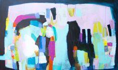 """Change of Plans"" by Claire Desjardins. 48""x80"", acrylics on canvas. #clairedesjardins #artwork #clairedesjardinsart #art #painting #abstractart #abstractartwork #abstractpainting #originalart #originalartwork #originalpainting #artforsale #artworkforsale #paintingforsale #abstractexpressionism #pink #navy #turquoise #wallart #walldecor #interiordeco #interiordecor #interiordecorating #interiordecoration #acrylicpainting #acrylics #anthroartist #microsoftartist #nuvangoartist…"