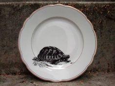 """Dessertteller,+""""Schildkröte"""",+kl.Teller+/+flach+von+ilóika+auf+DaWanda.com"""
