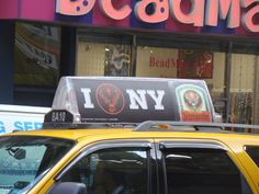 NYC Taxi Tops, Las Vegas and Chicago Taxi Advertising